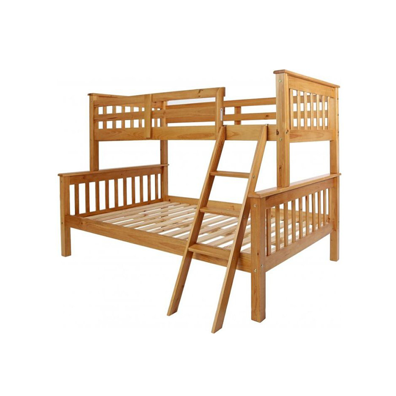 Blanca Triple Sleeper 3 4 Bunk Bed In Antique Pine Efworldie